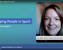 Developing people in sport… the Sport Structures way